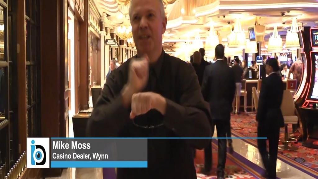 Mike Moss, Deaf Dealer at Wynn Hotel & Resort