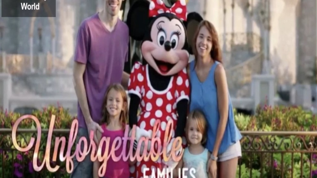 Disney World Commercial Mansfield Family